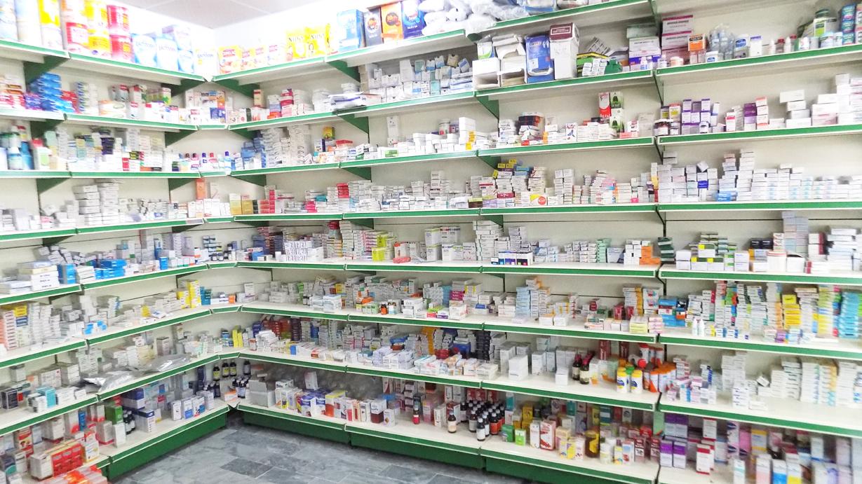 Medicine Store Rack